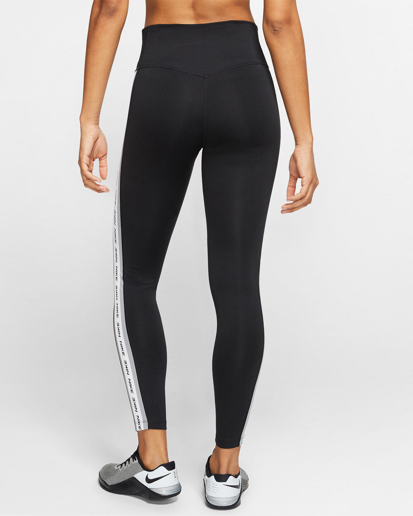 Leggings NIKE ONE 7/8 TAPE W S5172994 scatto 3
