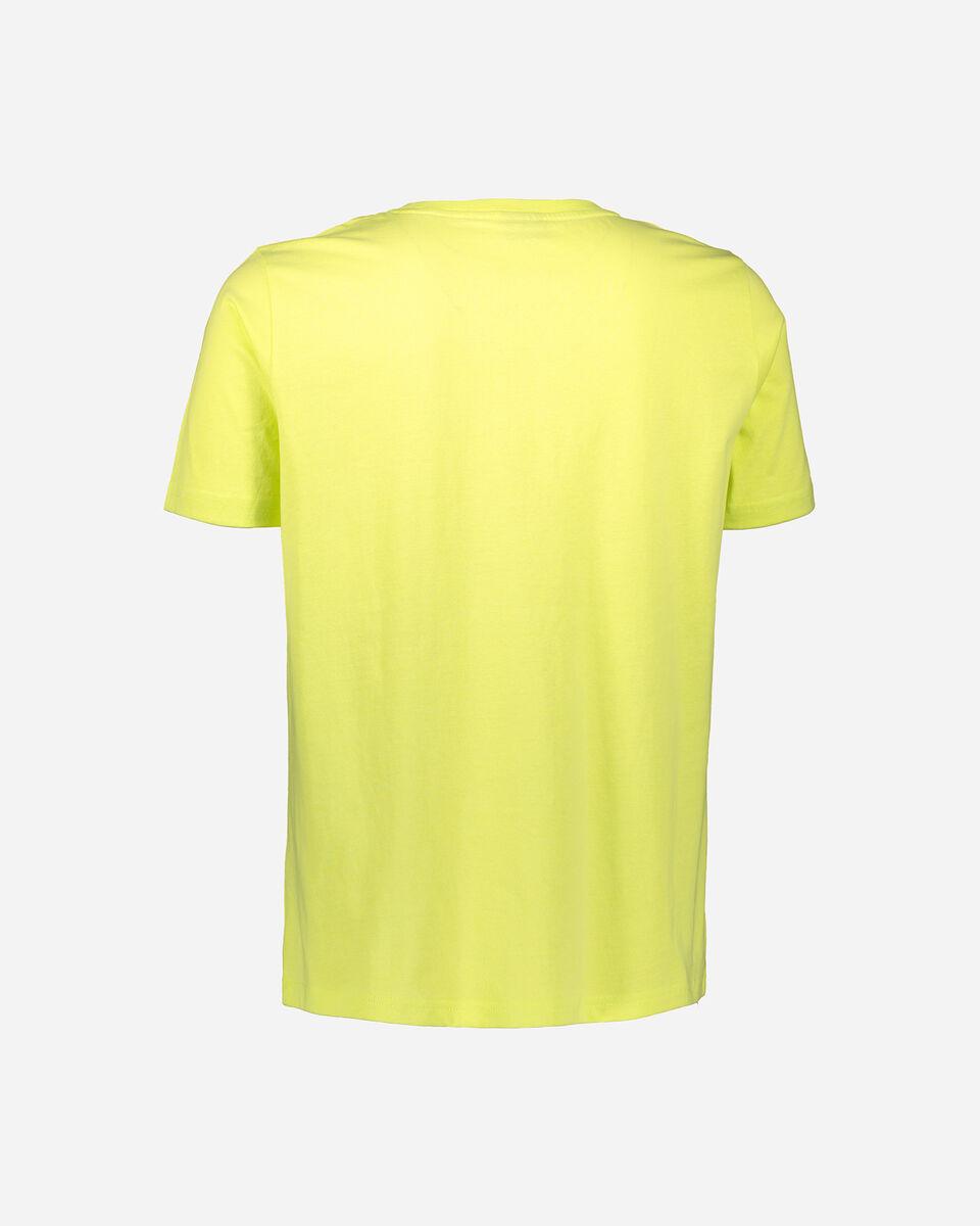 T-Shirt BEAR LOGO ISTITUZIONAL M S4088477 scatto 1