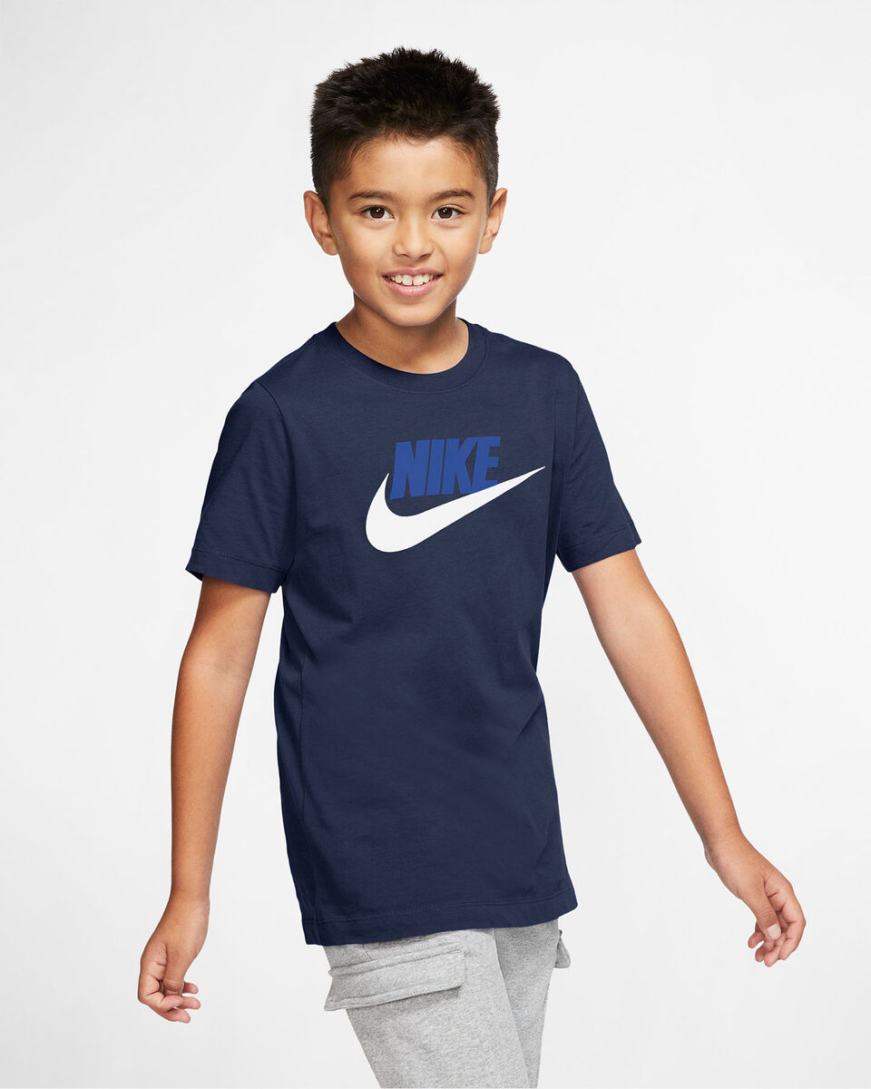 T-Shirt NIKE BIG LOGO JR S5162702 scatto 2