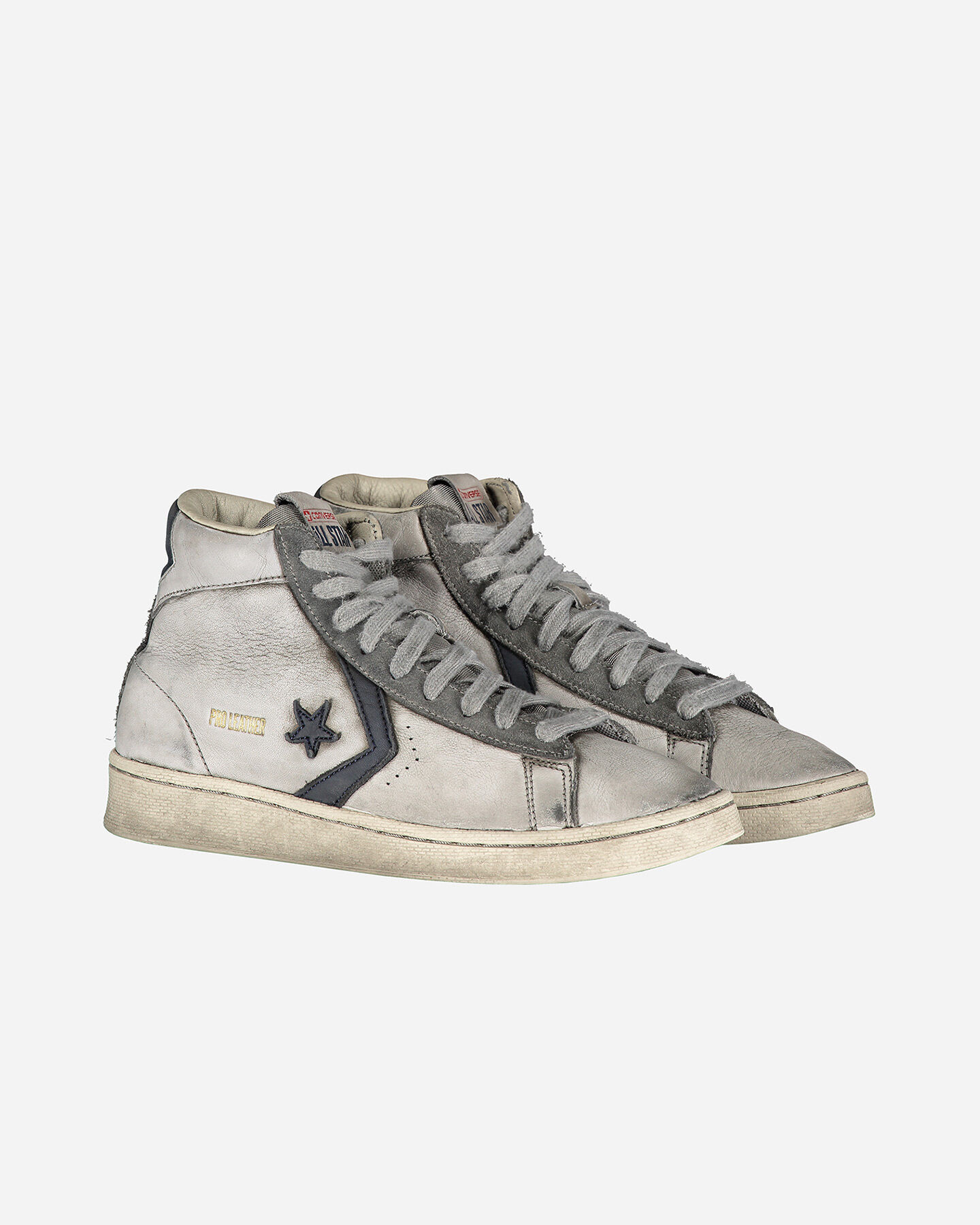 Scarpe sneakers CONVERSE SMOKE IN PRO LEATHER MID M S5238002 scatto 1