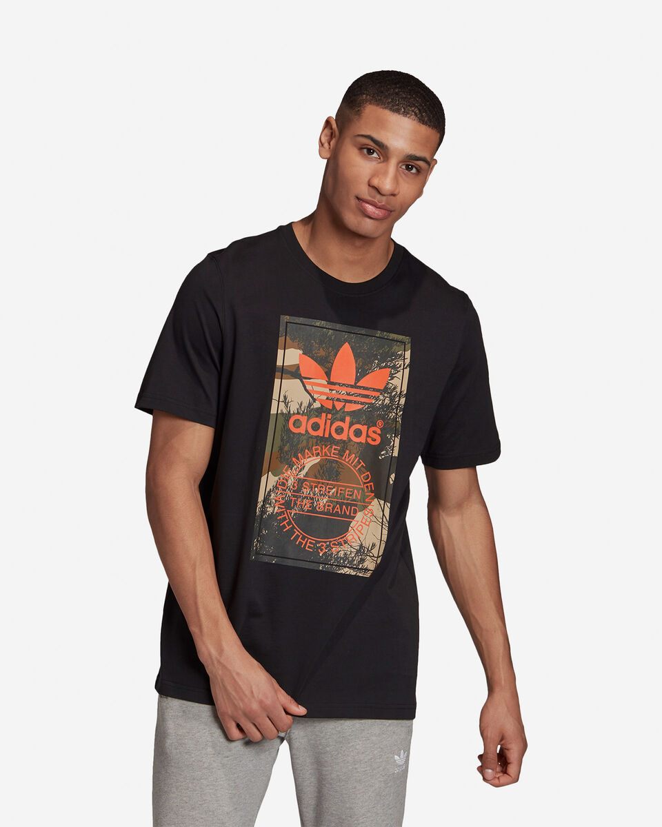 T-Shirt ADIDAS CAMO TONGUE M S5210681 scatto 2