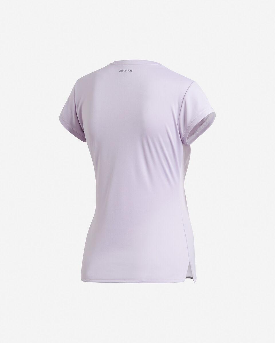 T-Shirt tennis ADIDAS 3-STRIPES CLUB W S5155173 scatto 1