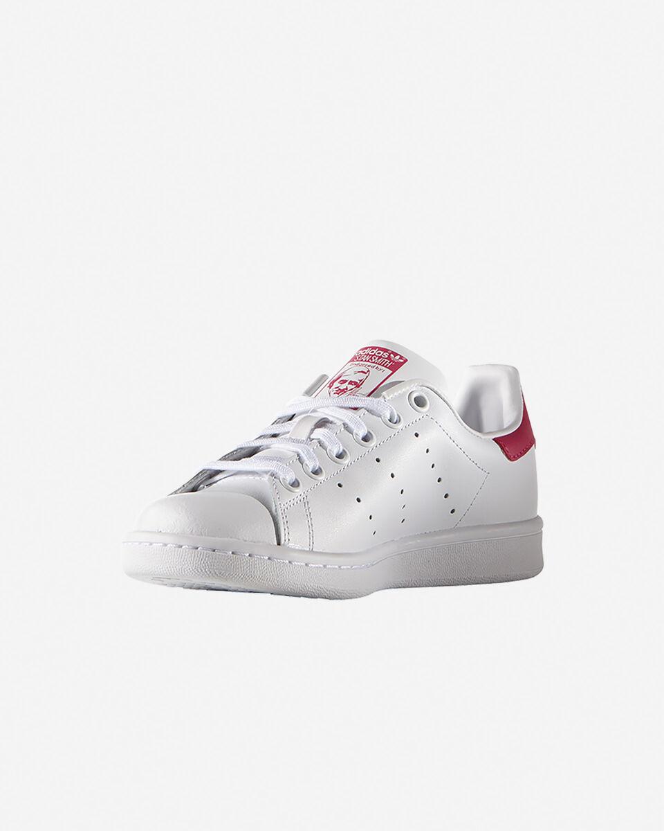 Scarpe sneakers ADIDAS STAN SMITH JR GS S5069438 scatto 3