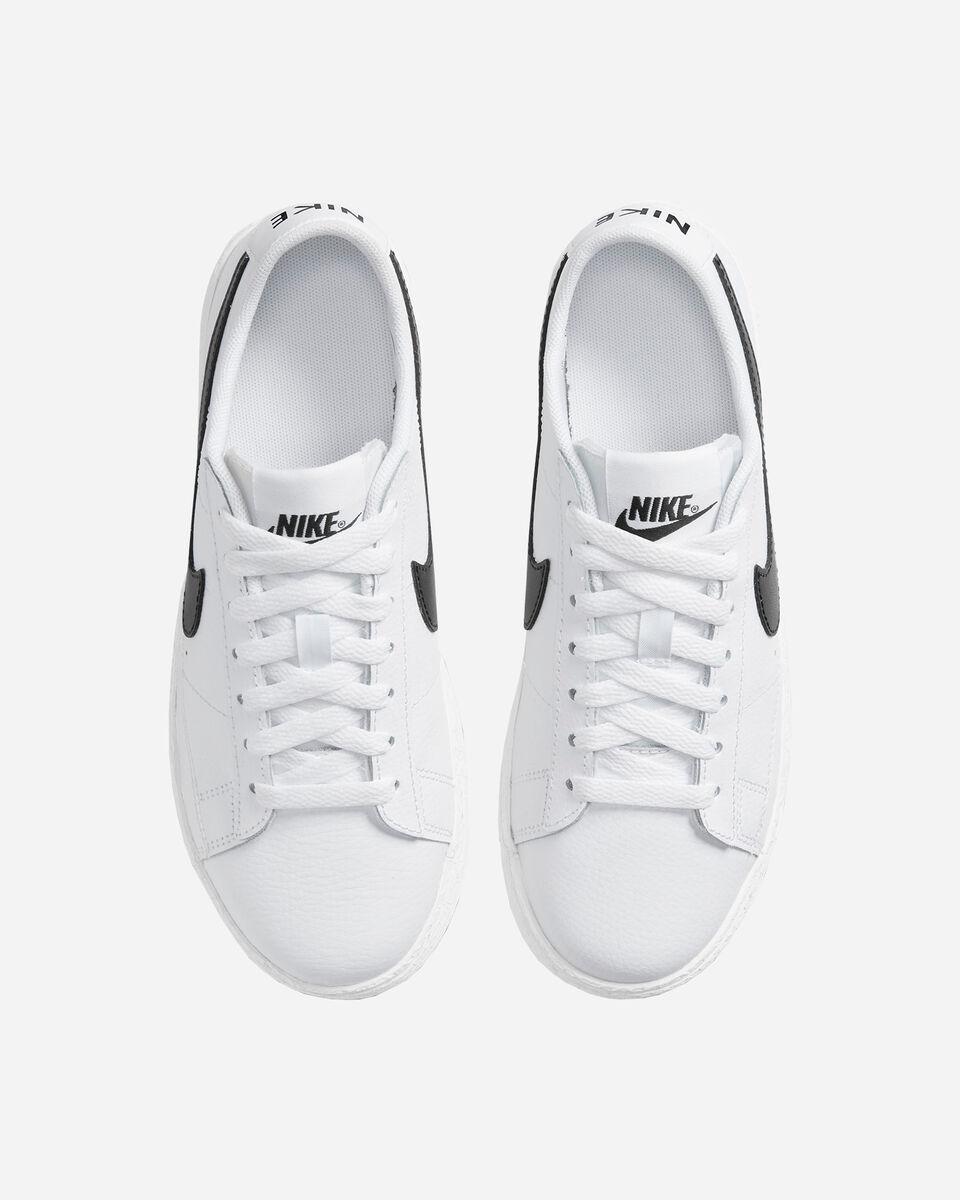 Scarpe sneakers NIKE BLAZER LOW JR GS S5230944 scatto 3