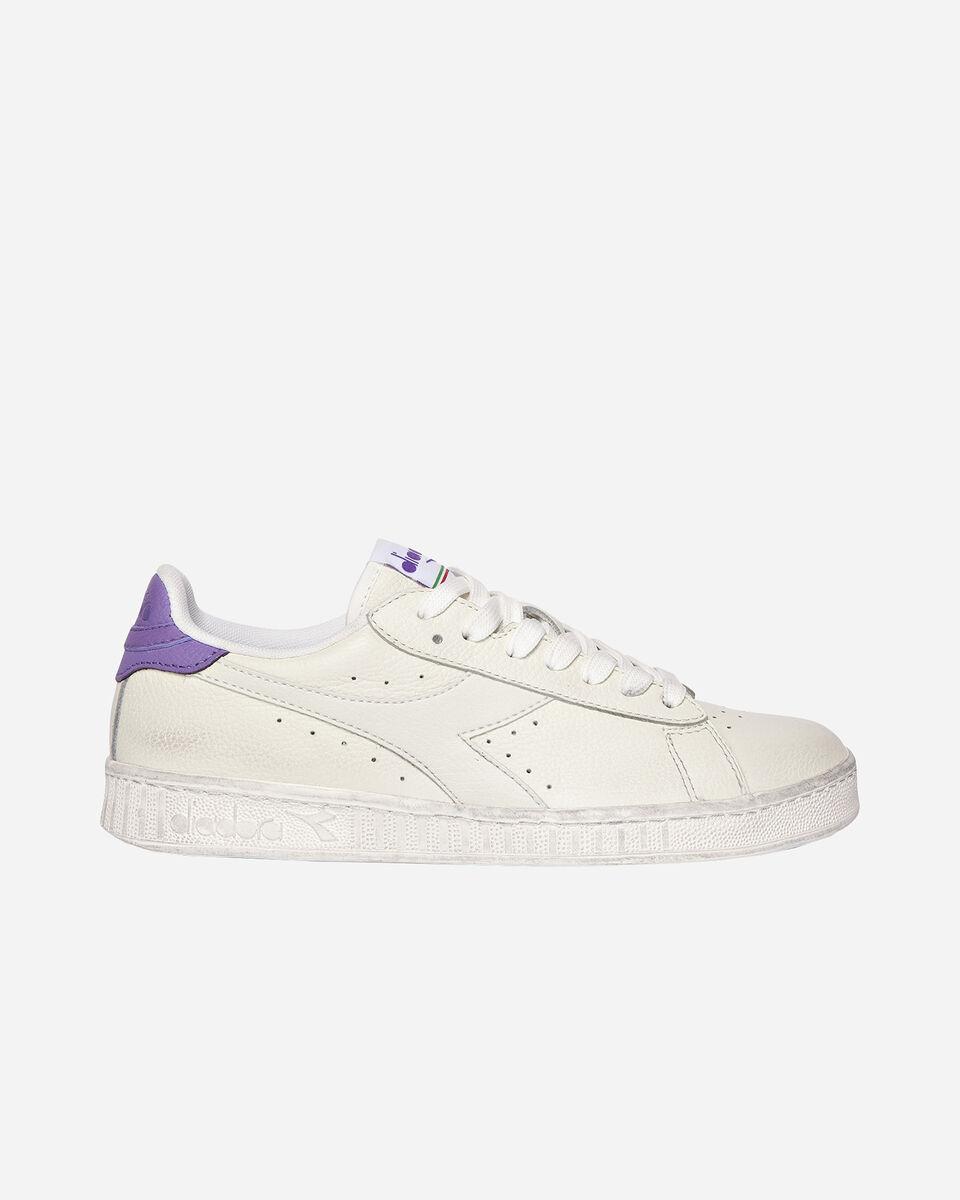 Scarpe sneakers DIADORA GAME L LOW WAXED W S5171105 scatto 0