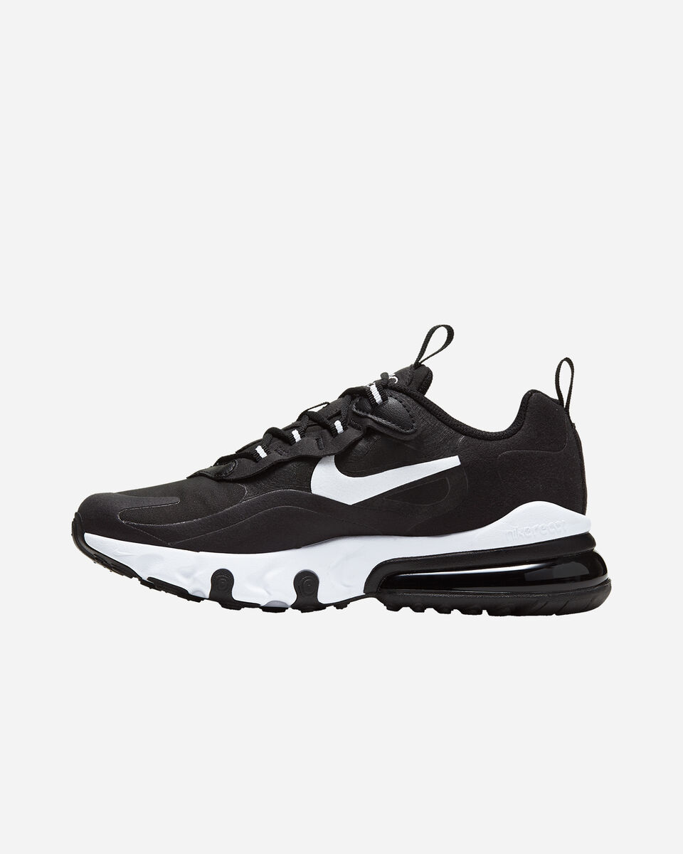 Scarpe sneakers NIKE AIR MAX 270 REACT JR GS S5161713 scatto 5