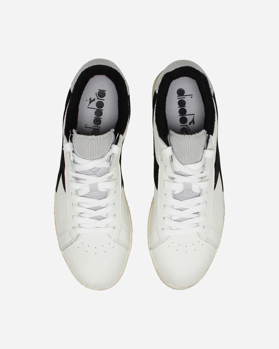 Scarpe sneakers DIADORA GAME L LOW USED M S5083816 scatto 3