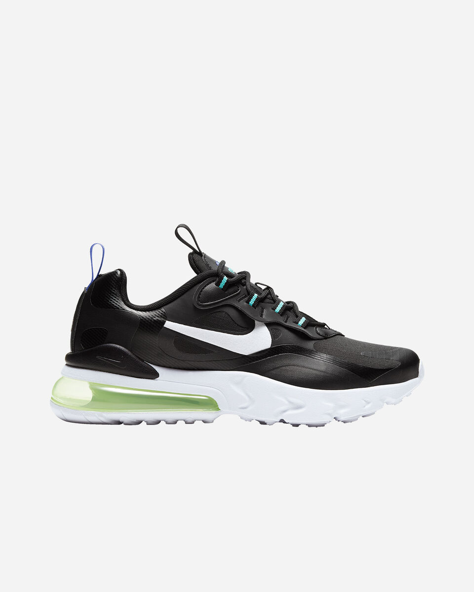 Scarpe sneakers NIKE AIR MAX 270 REACT GS JR S5201769 scatto 0