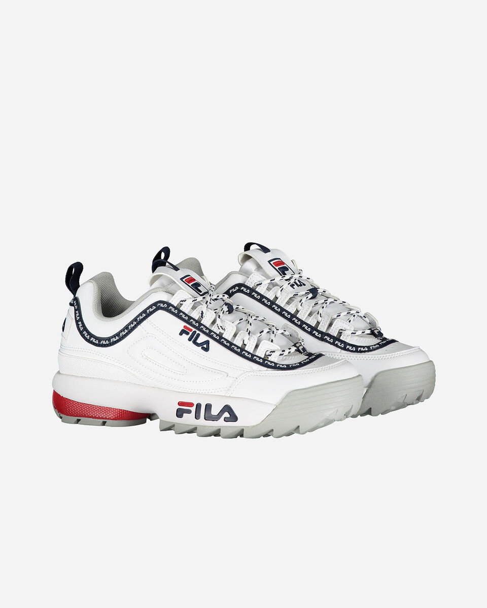 Scarpe sneakers FILA DISRUPTOR LOW W S4076625 scatto 1