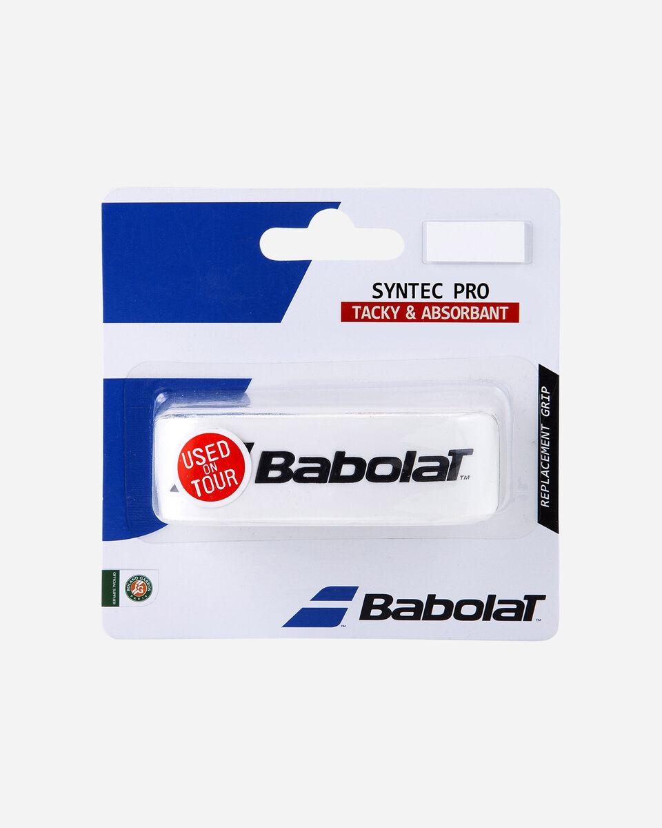 Grip tennis BABOLAT SYNTEC PRO S1261009|1|UNI scatto 0