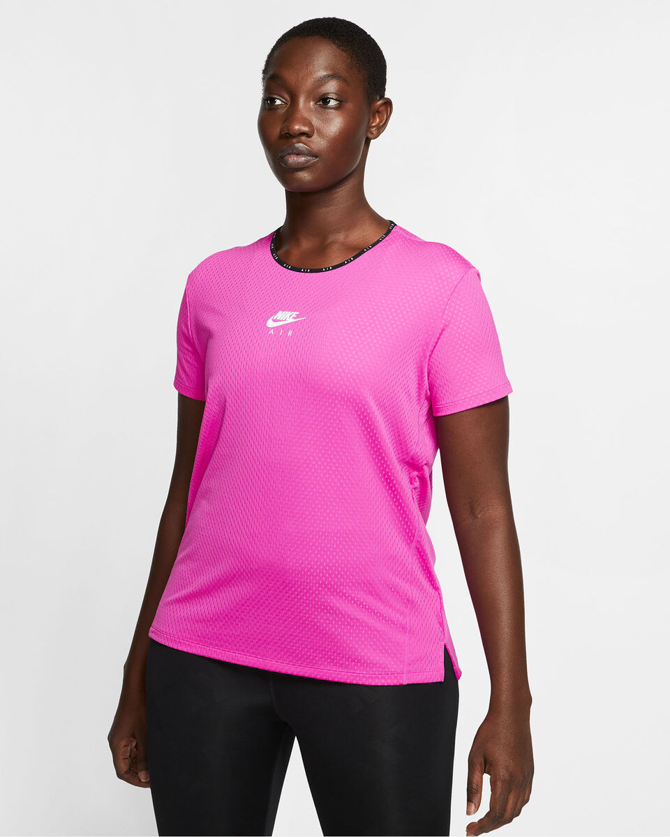 T-Shirt running NIKE AIR TOP W S5164941 scatto 2