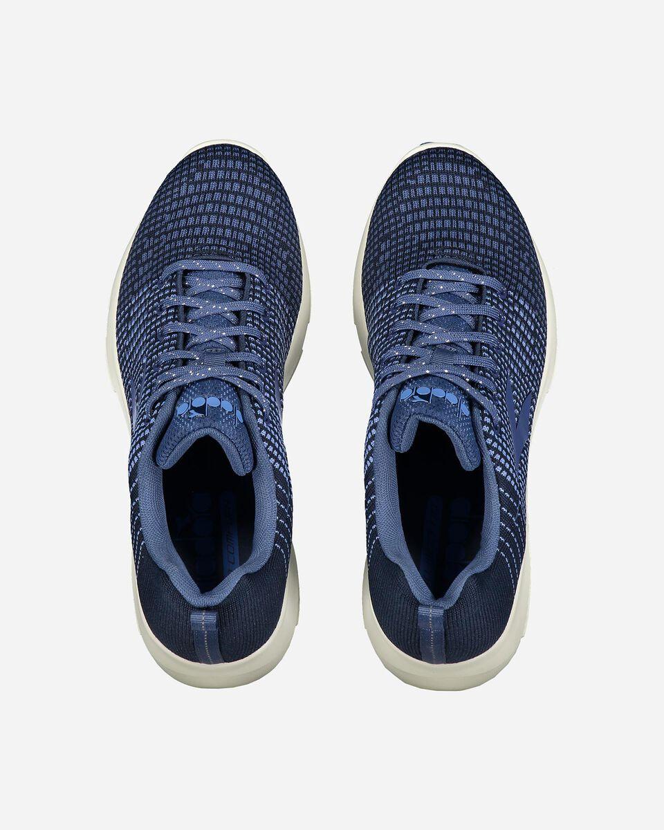 Scarpe sneakers DIADORA X RUN LIGHT 5 W S4081799 scatto 3
