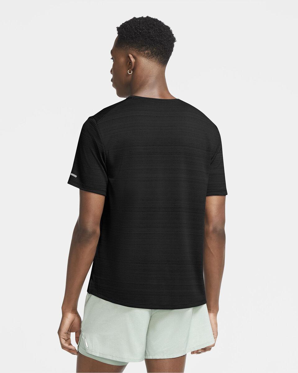 T-Shirt running NIKE DRI-FIT MILER M S5225604 scatto 3