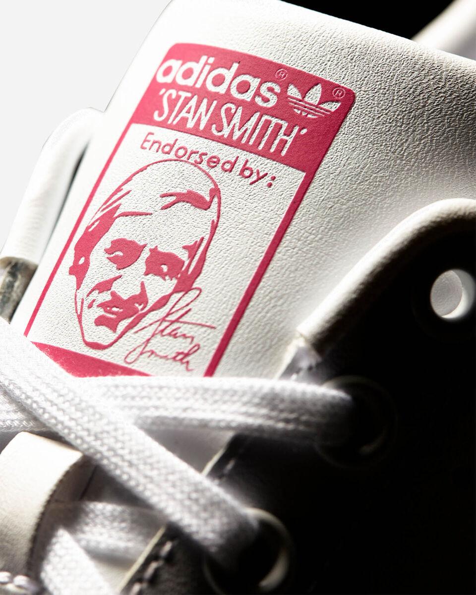 Scarpe sneakers ADIDAS STAN SMITH JR GS S5069438 scatto 5