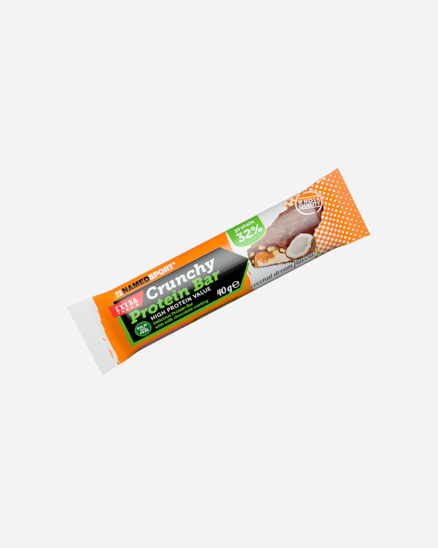 Energetico NAMED SPORT CRUNCHY PROTEINBAR 40G S1320810 scatto 0