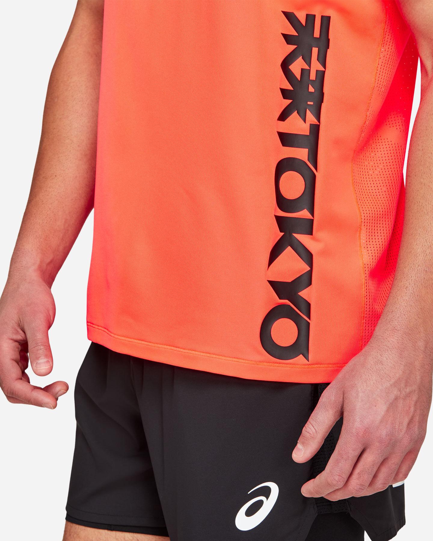T-Shirt running ASICS FUTURE TOKYO VENTILATE M S5213379 scatto 3