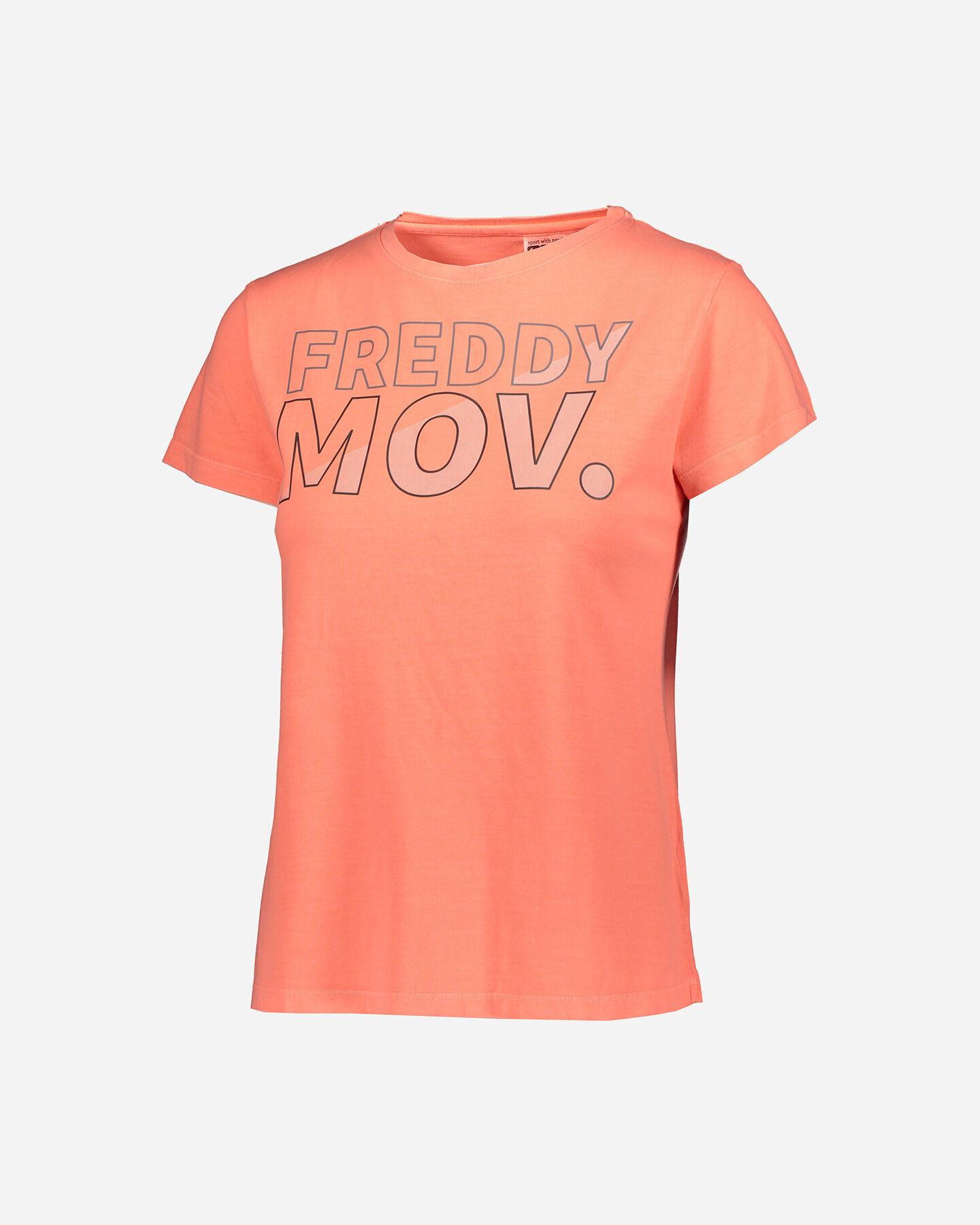 T-Shirt training FREDDY BIG LOGO MOV W S5183530 scatto 0