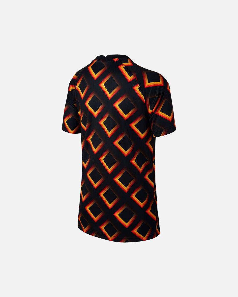 Abbigliamento calcio NIKE AS ROMA PREMATCH 20-21 JR S5195548 scatto 1