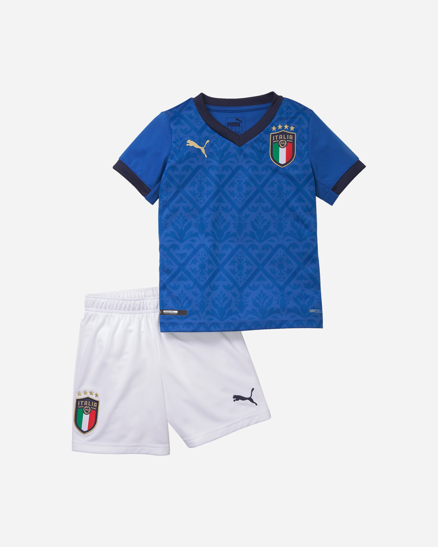 Abbigliamento calcio PUMA ITALIA MINIKIT HOME 20 JR S5172940 scatto 0