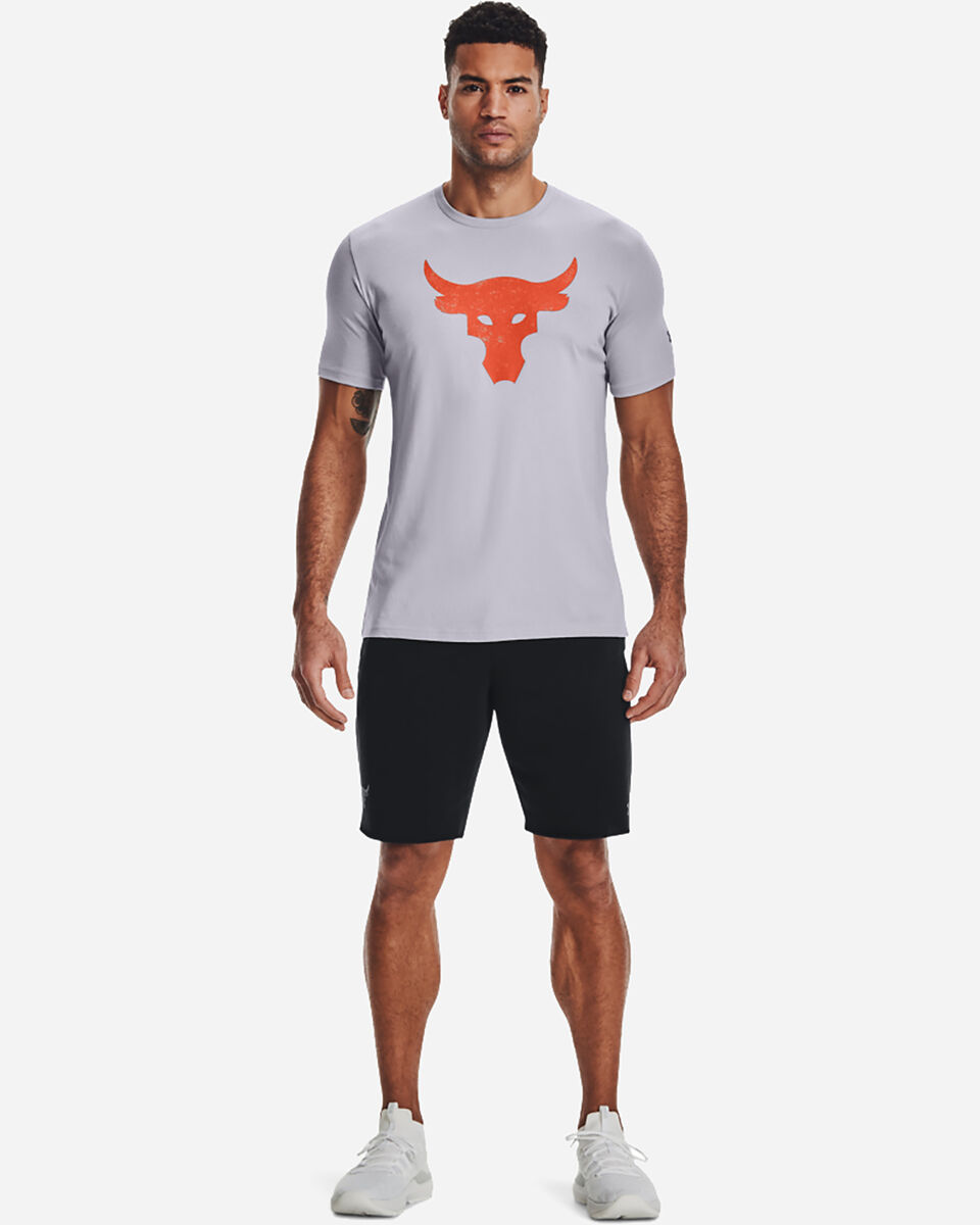 T-Shirt UNDER ARMOUR THE ROCK BULL LOGO M S5300568 scatto 5
