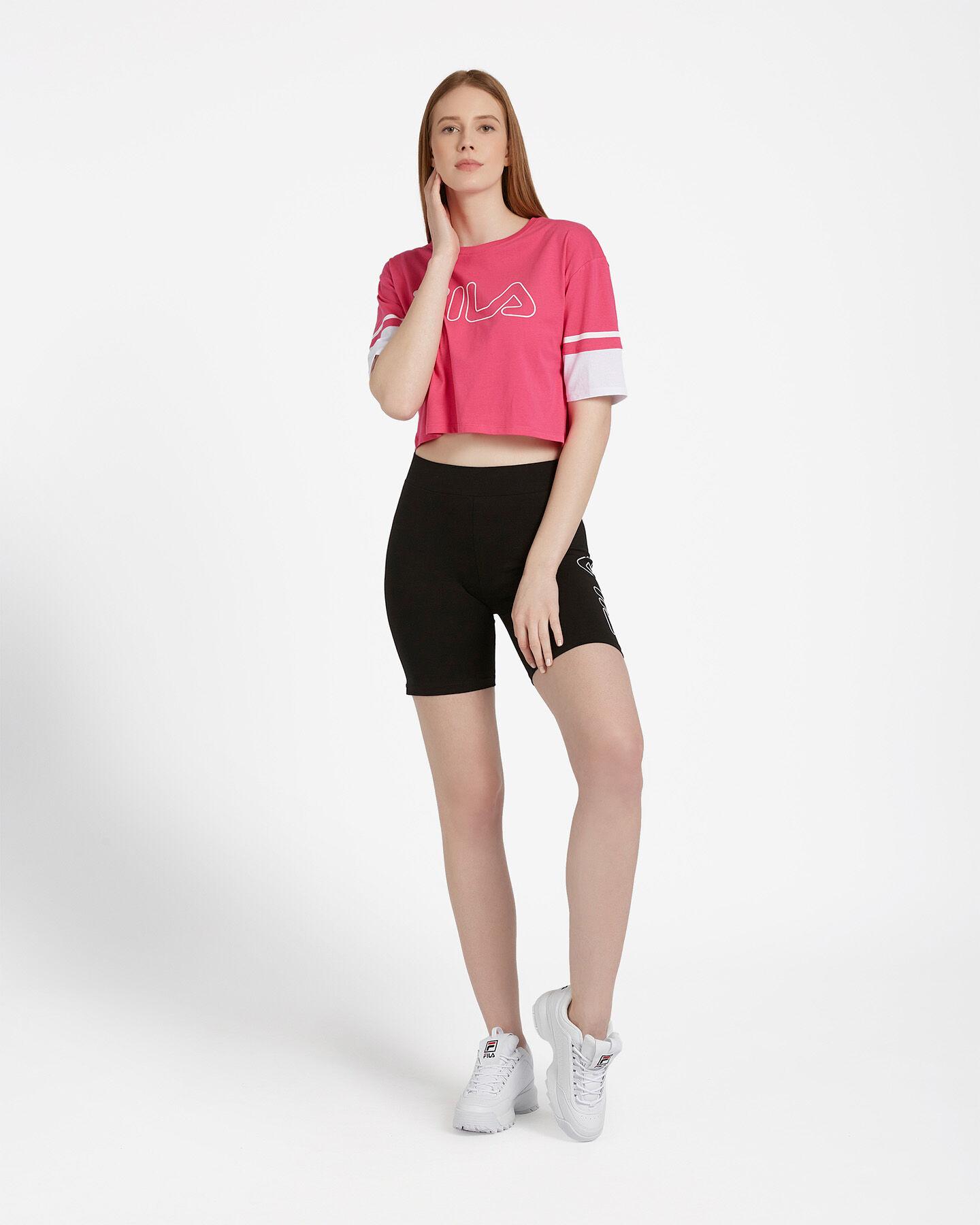 T-Shirt FILA LOGO W S4074228 scatto 1