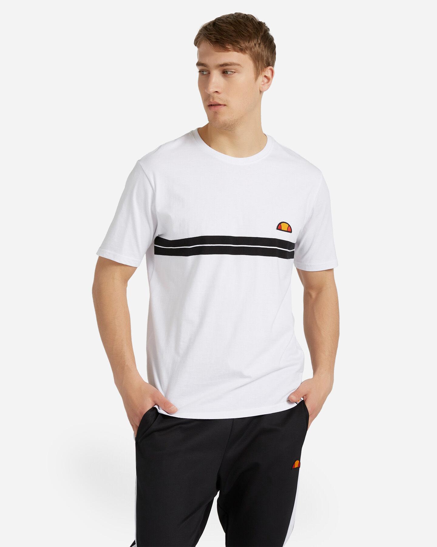 T-Shirt ELLESSE STRIPES M S4088418 scatto 0