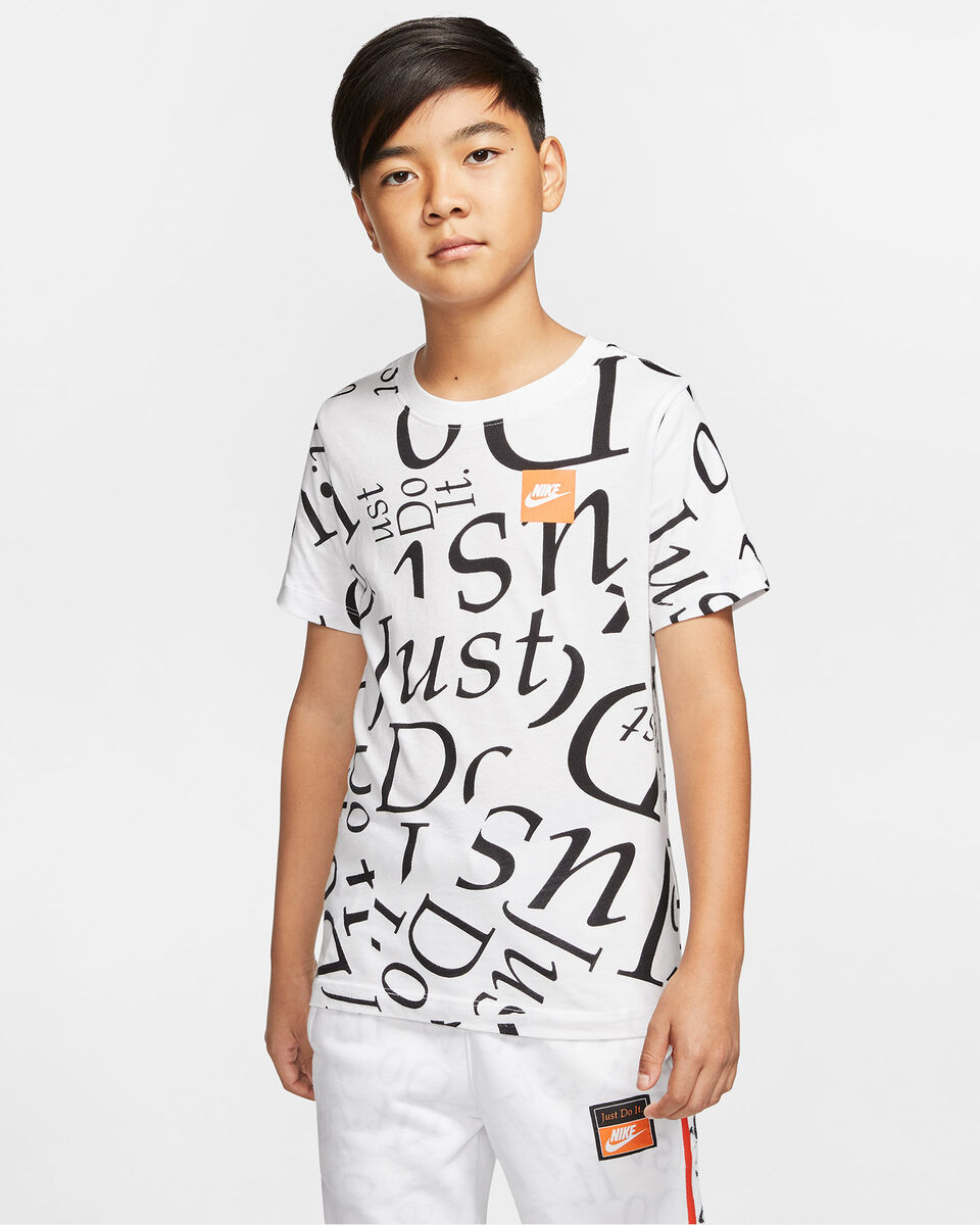 T-Shirt NIKE LETTER JR S5165051 scatto 2