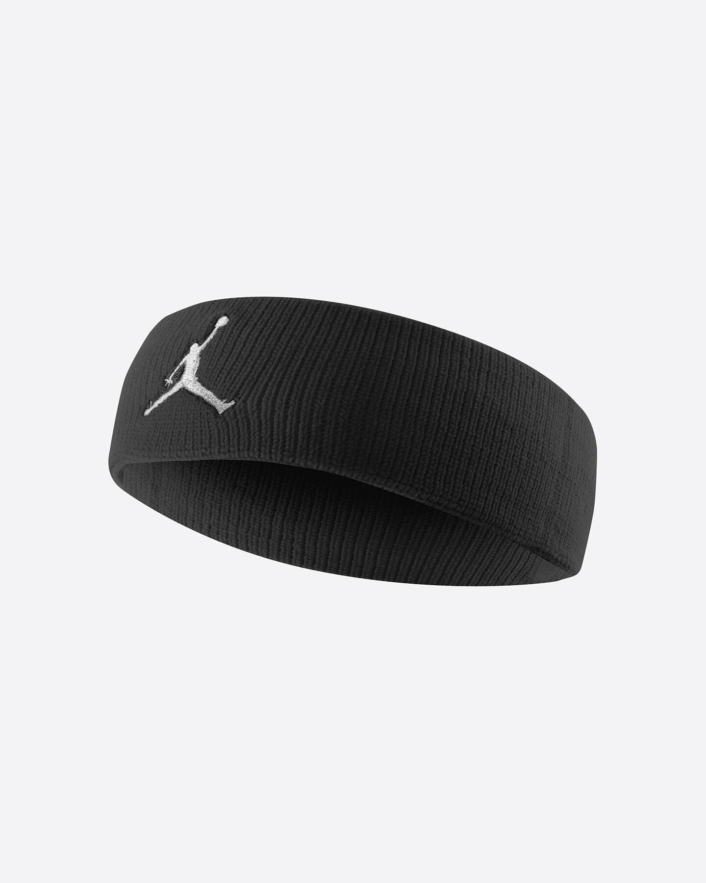 Accessorio basket NIKE JORDAN JUMPMAN HEADBAND S4015848|NERO|UNI scatto 0
