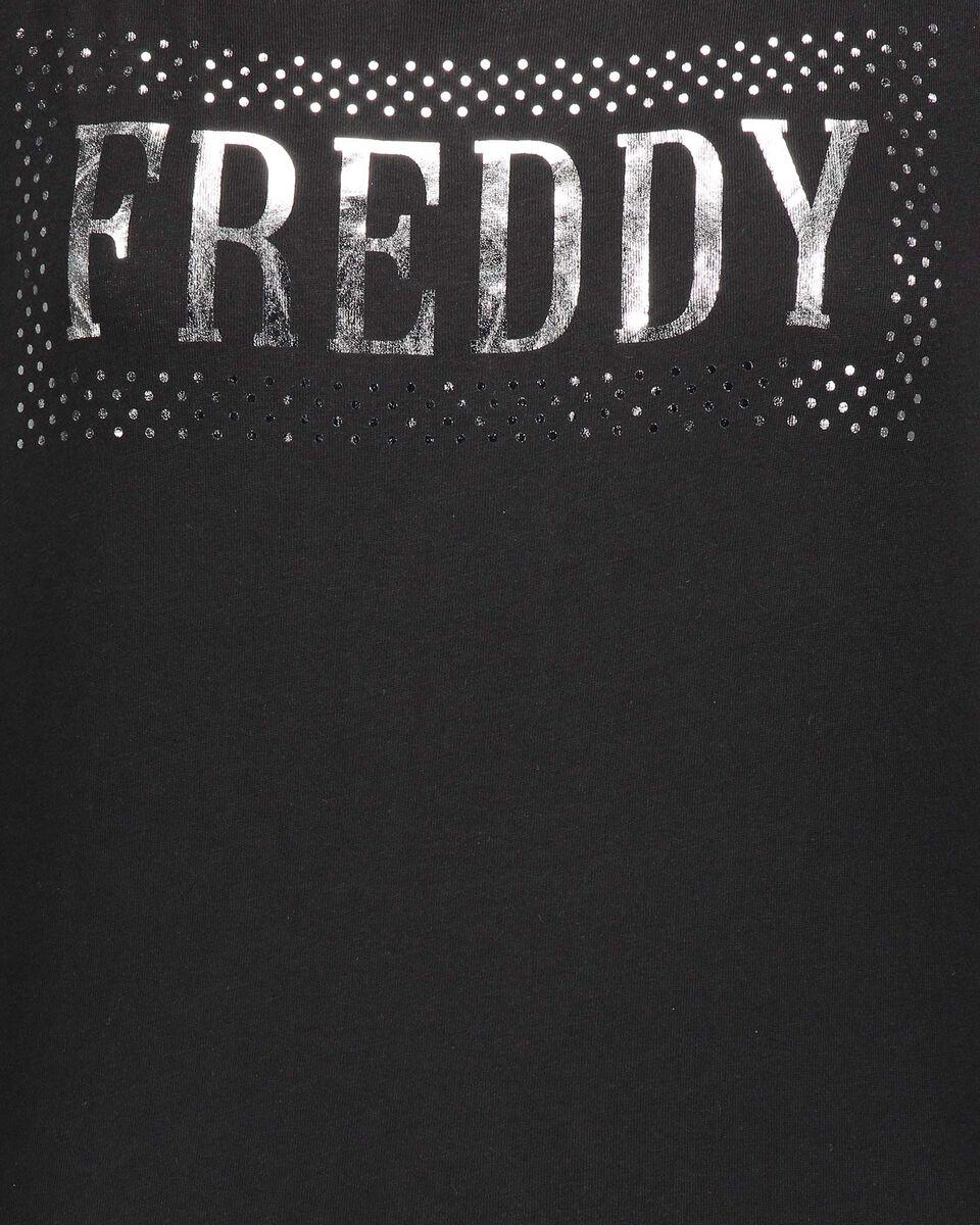 T-Shirt FREDDY BIG LOGO SILVER W S5183717 scatto 2