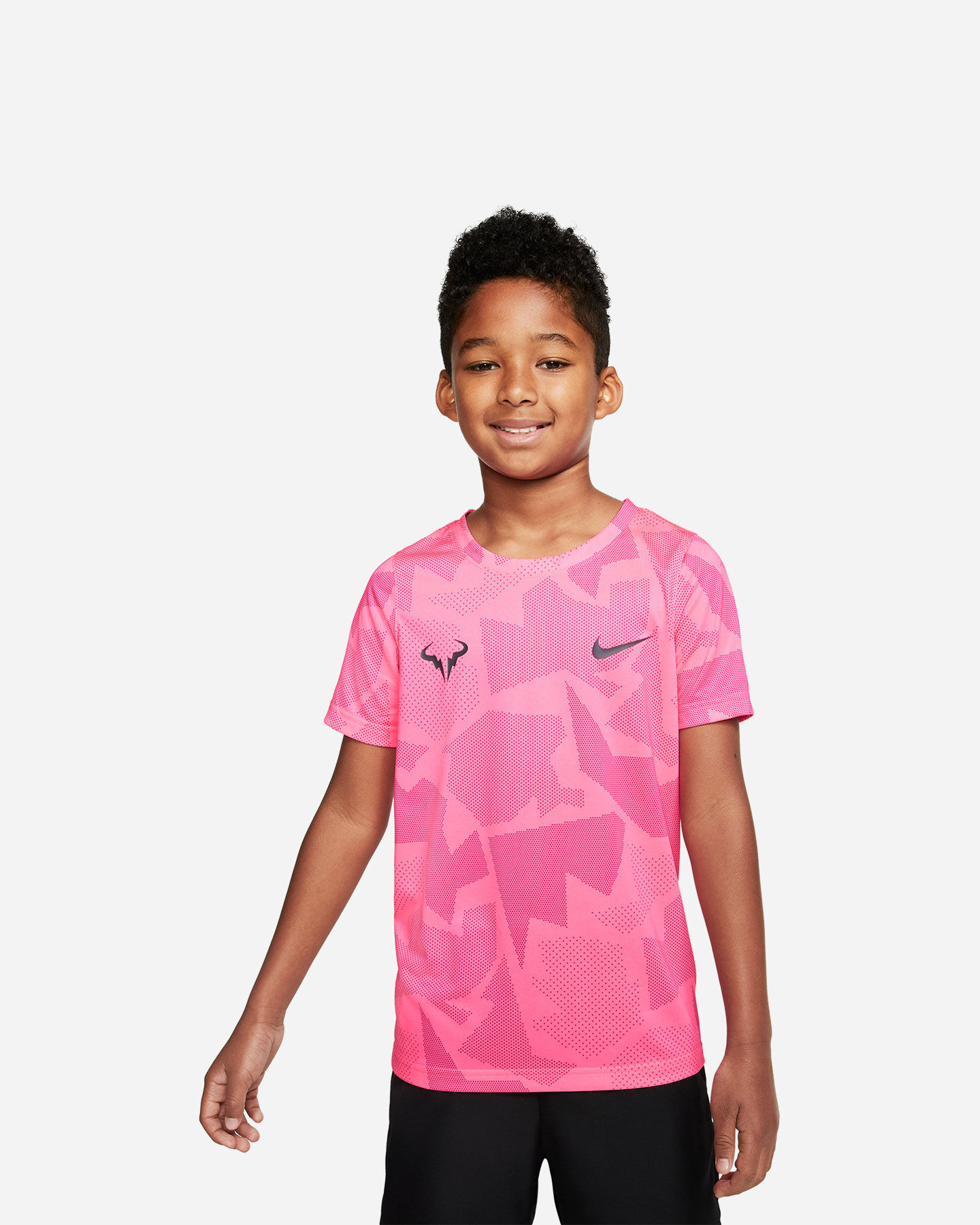Maglia tennis NIKE COURT DRI-FIT RAFA JR S5163743 scatto 0