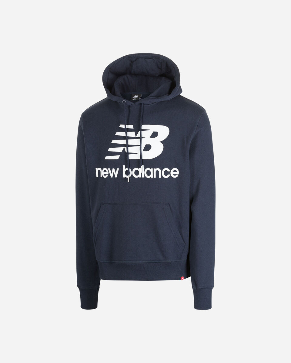 Felpa NEW BALANCE STACKED M S5166423 scatto 5
