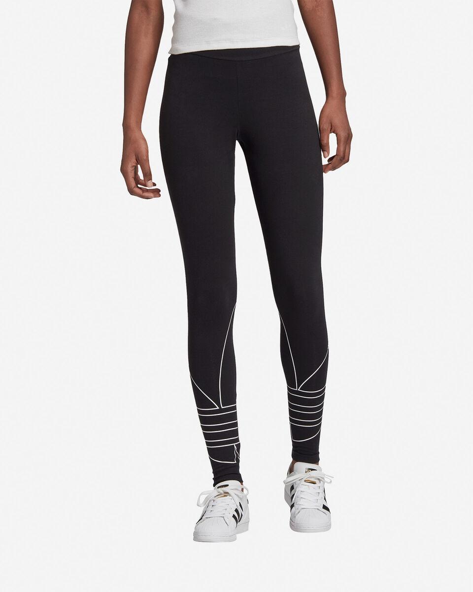 Jeans ADIDAS ORIGINALS BIG TREFOIL W S5210138 scatto 2