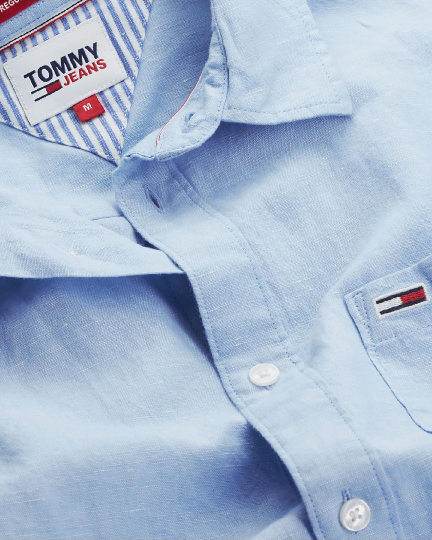 Camicia TOMMY HILFIGER LINEN M S4088738 scatto 2