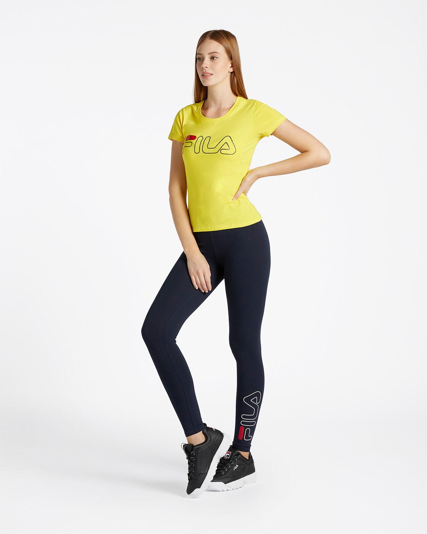 T-Shirt FILA LOGO W S4067235 scatto 1