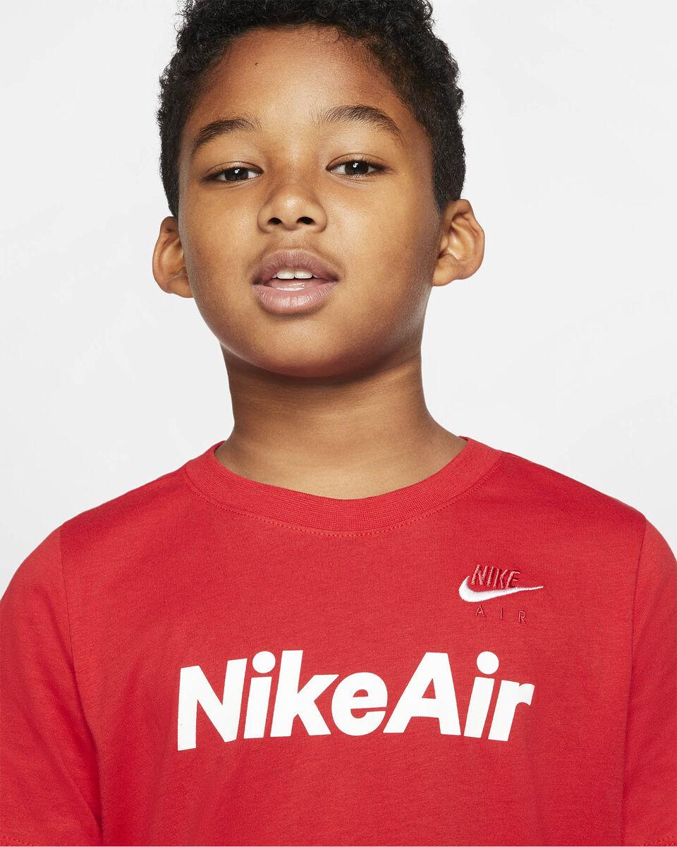 T-Shirt NIKE AIR LOG JR S5165230 scatto 4