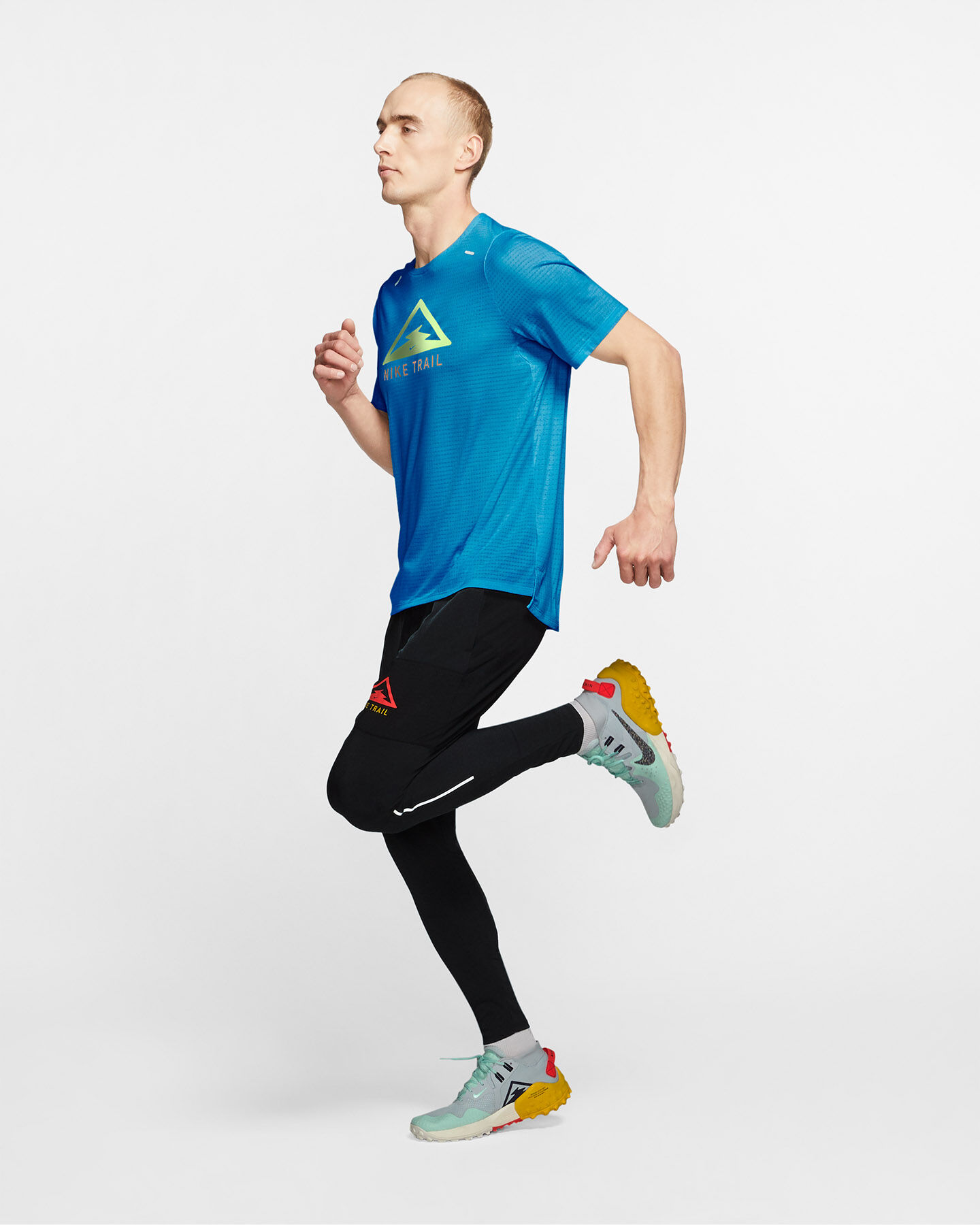 T-Shirt running NIKE RISE 365 TRAIL M S5225209 scatto 4