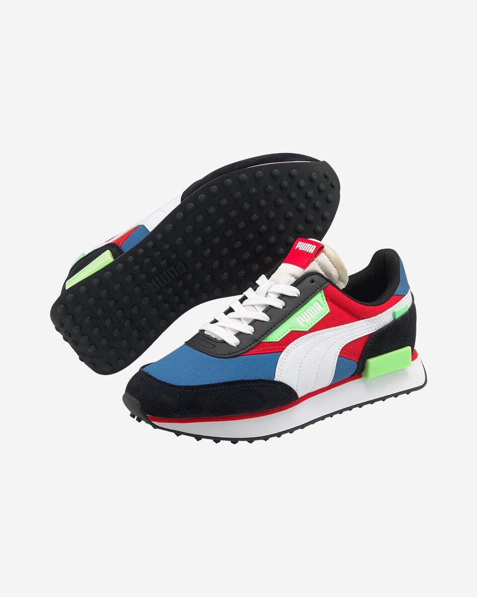 Scarpe sneakers PUMA FUTURE RIDER PLAY ON GS JR S5283249 scatto 1