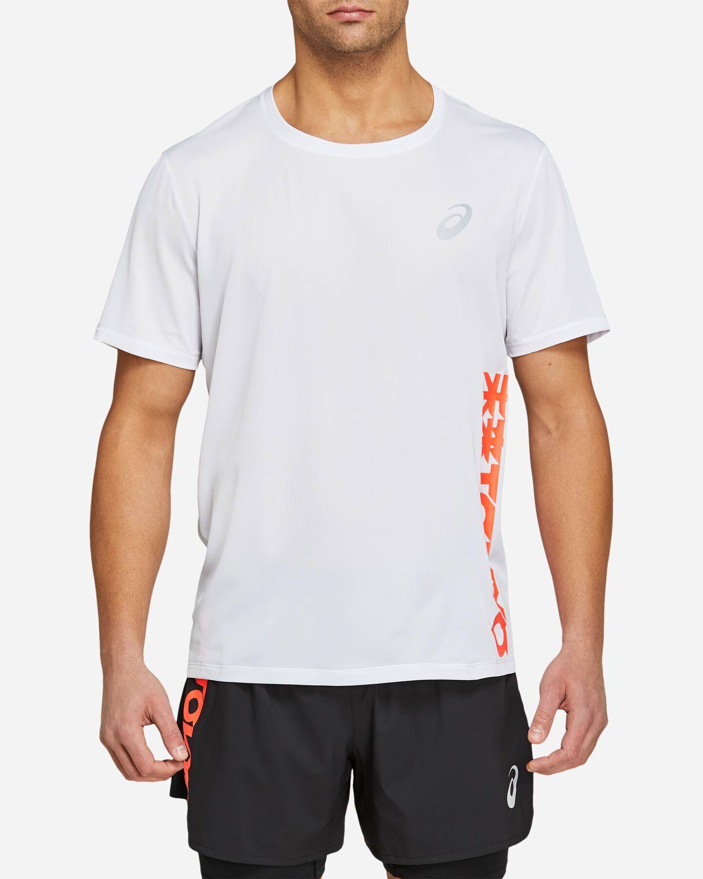 T-Shirt running ASICS FUTURE TOKYO VENTILATE SS M S5213378 scatto 2