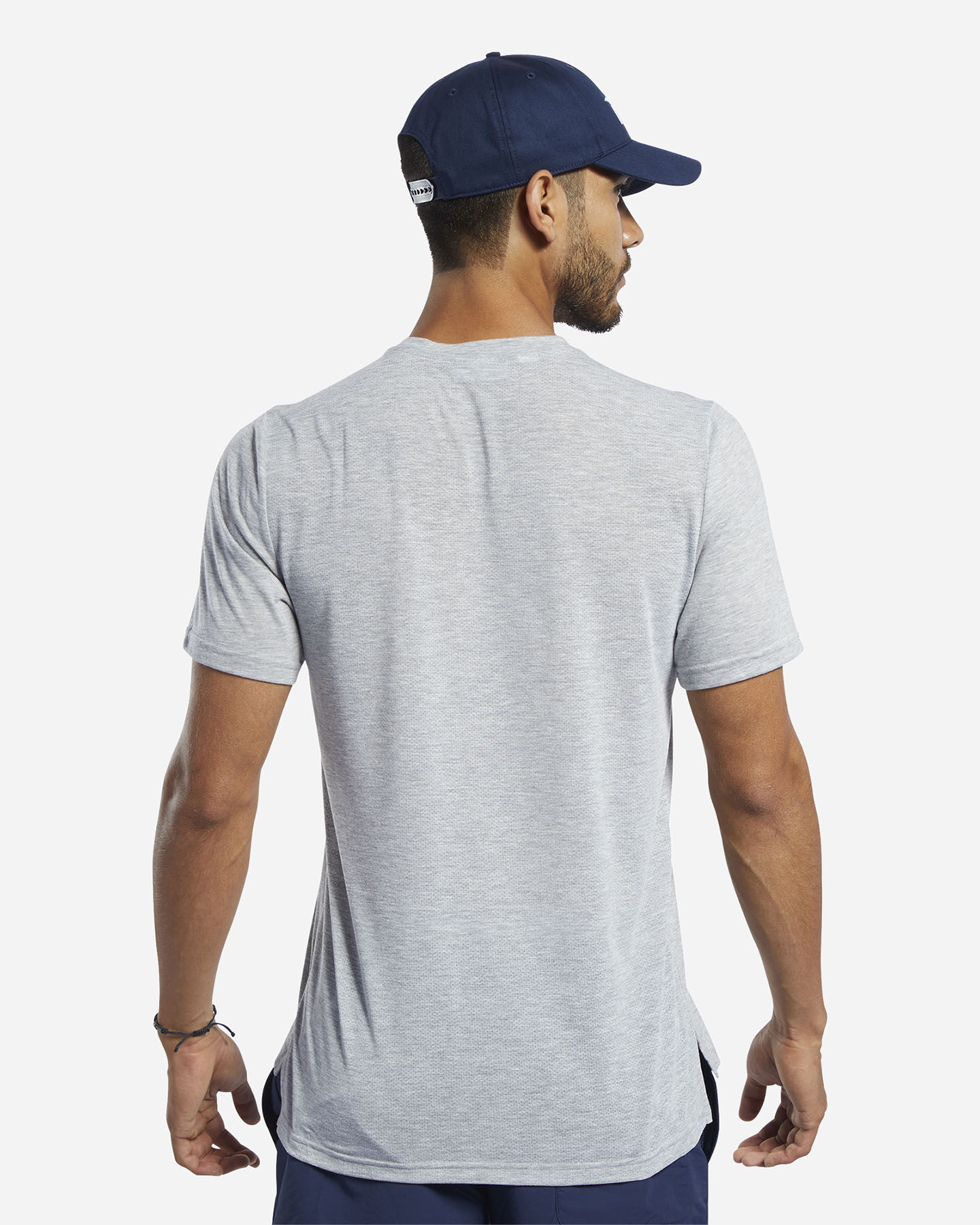 T-Shirt training REEBOK WORKOUT GRAPHIC M S5213779 scatto 3
