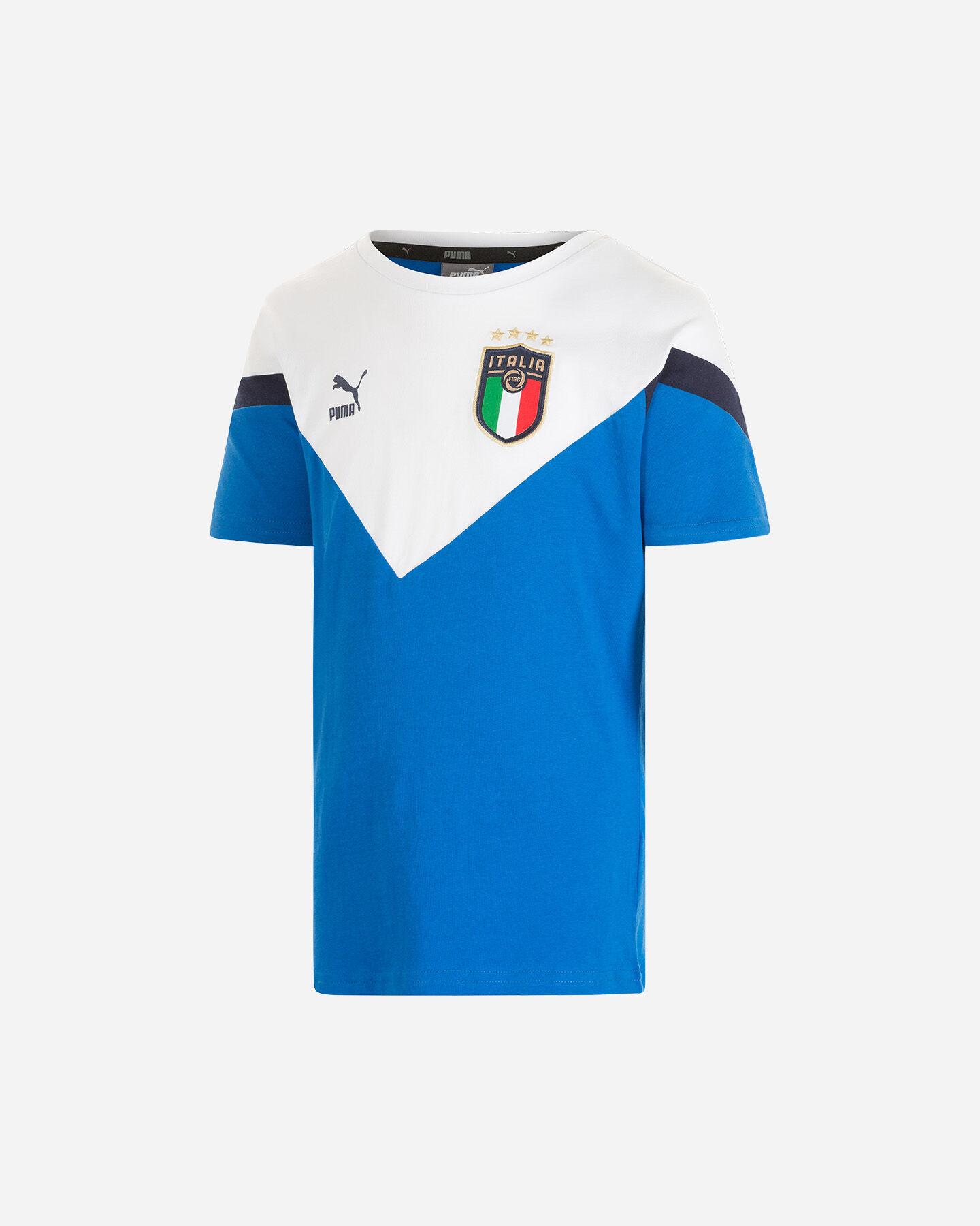 Abbigliamento calcio PUMA ITALIA ICON 20 JR S5185558 scatto 0