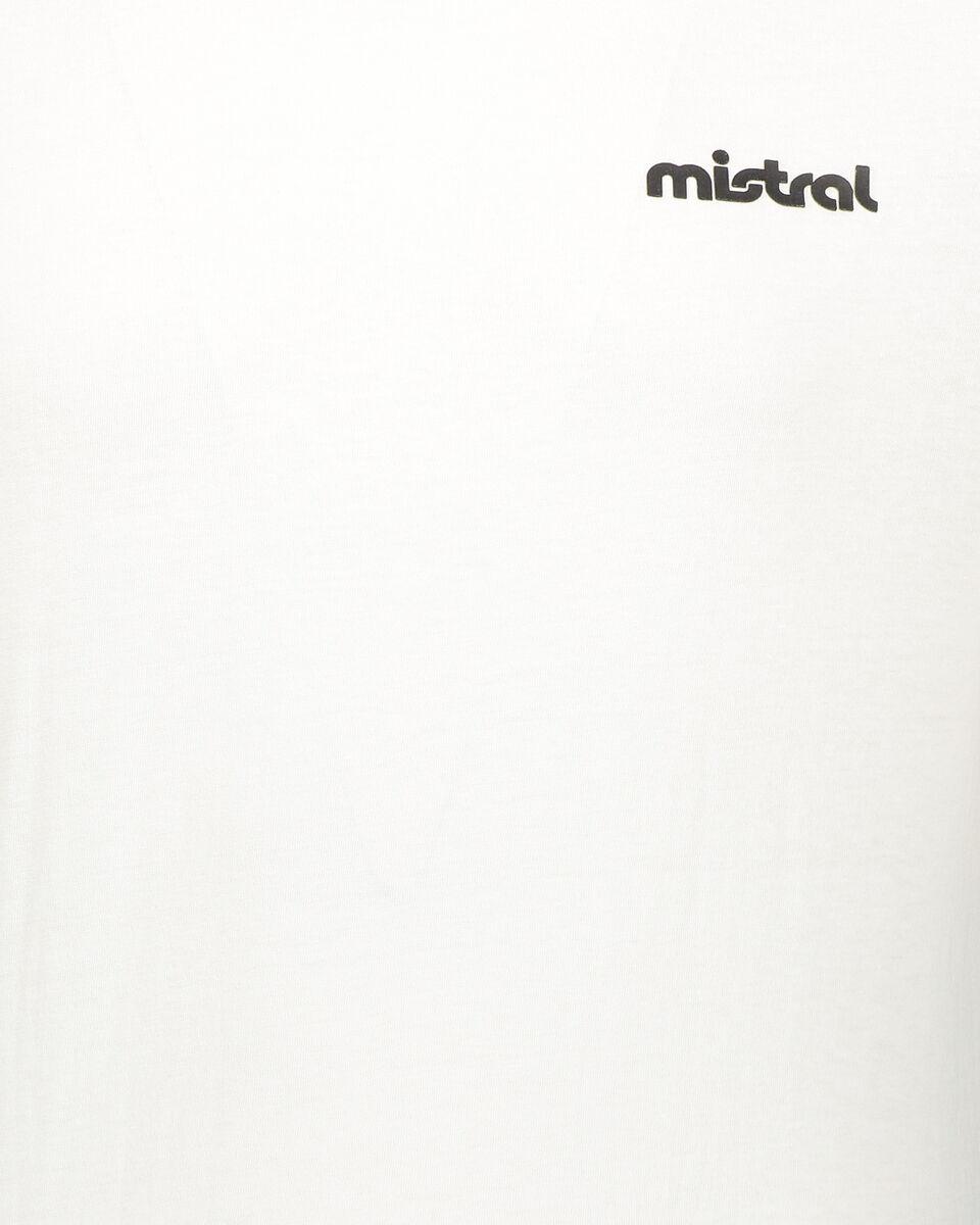 T-Shirt running MISTRAL BACK LOGO U S4076899 scatto 2