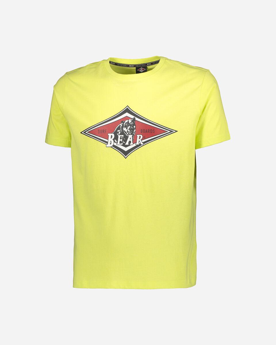 T-Shirt BEAR LOGO ISTITUZIONAL M S4088477 scatto 0