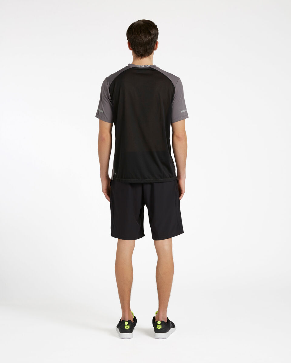 T-Shirt training ARENA ROYAL BACK MESH M S4088059 scatto 2
