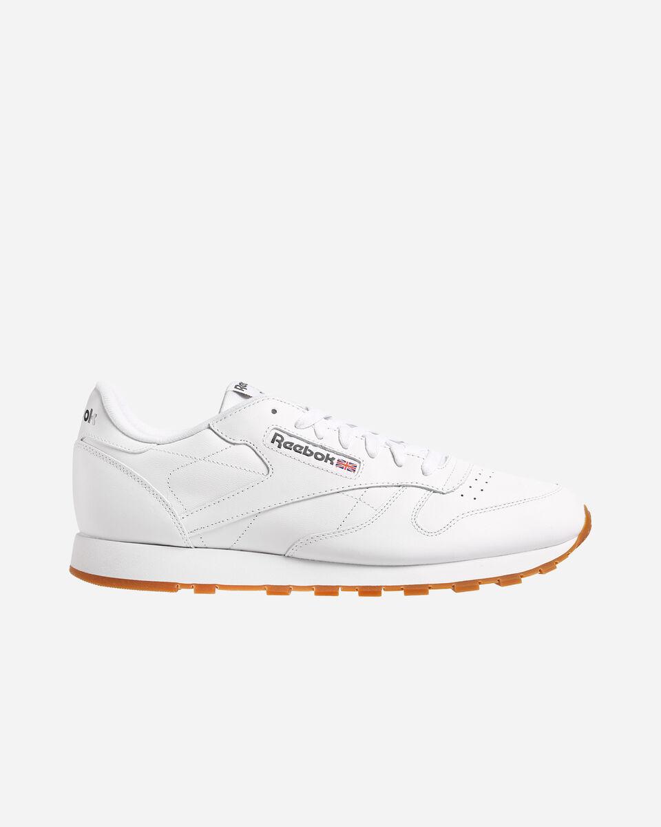 Scarpe sneakers REEBOK CLASSIC LEATHER M S4023267 scatto 0
