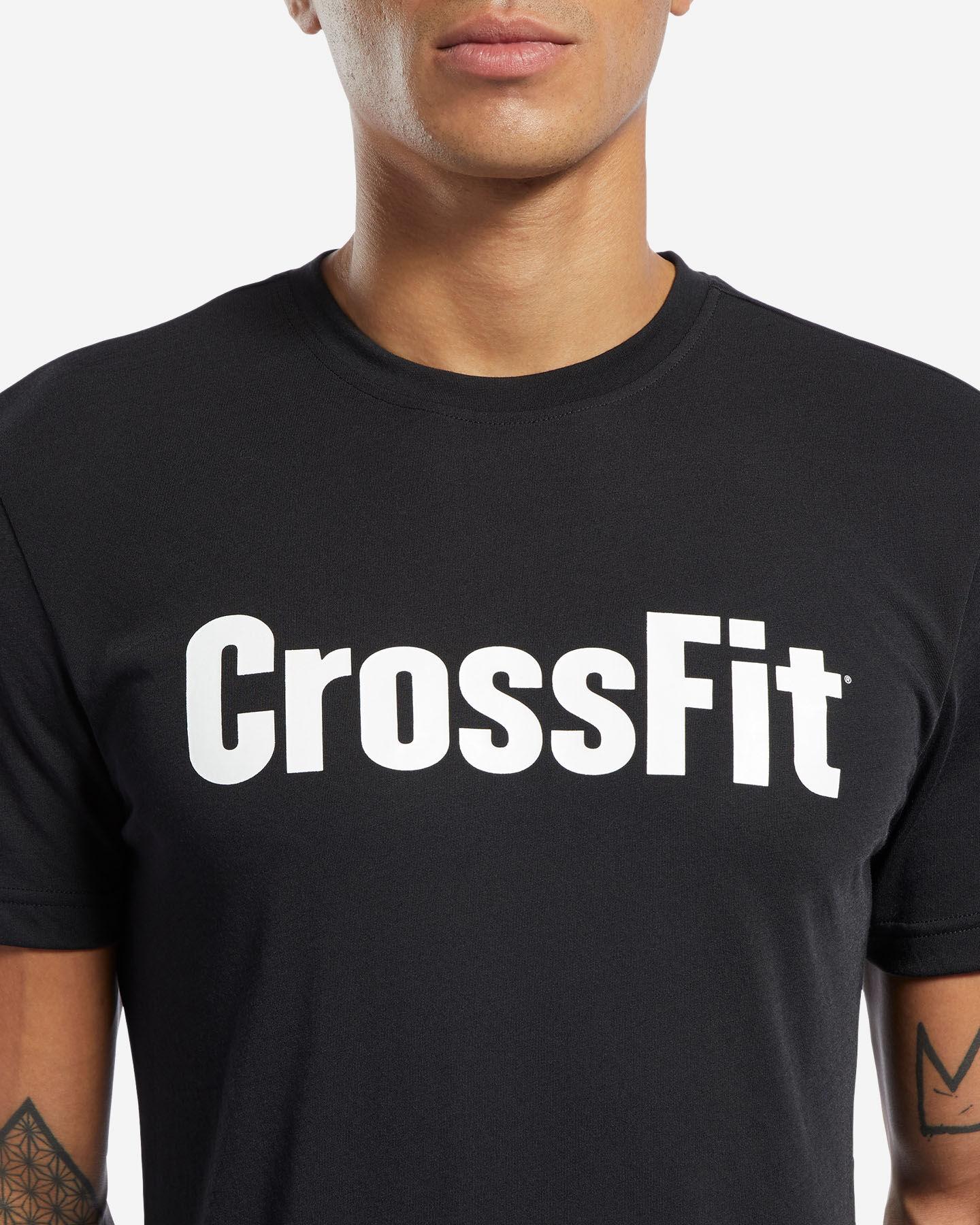 T-Shirt training REEBOK READ M S5145324 scatto 4