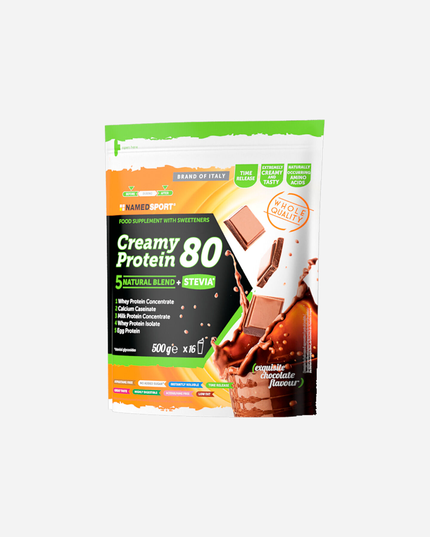 Energetico NAMED SPORT CREAMY PROTEIN EXQUISITE CHOCOLATE 500G S4024061|1|UNI scatto 0