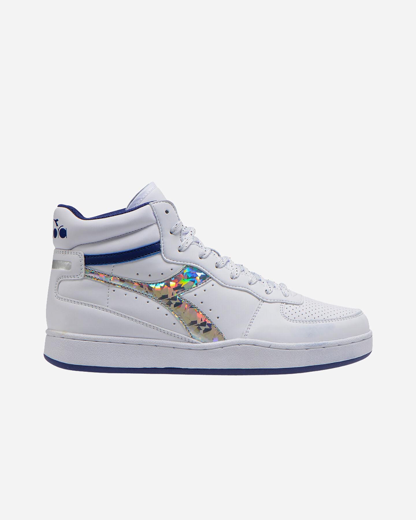Scarpe sneakers DIADORA PLAYGROUND HIGH JR GS S5089894 scatto 0