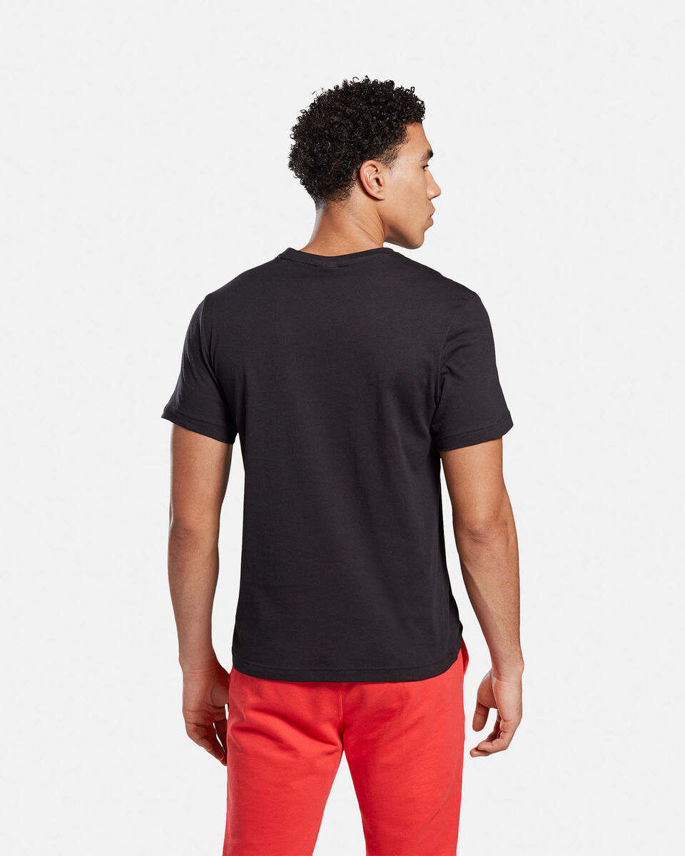 T-Shirt training REEBOK GS STACKED M S5146285 scatto 3