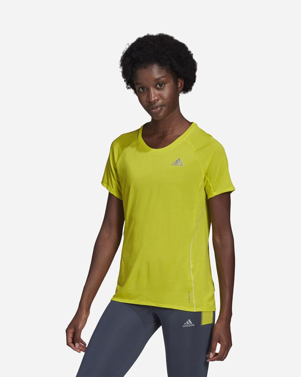 T-Shirt running ADIDAS RUNNER W S5273922 scatto 1