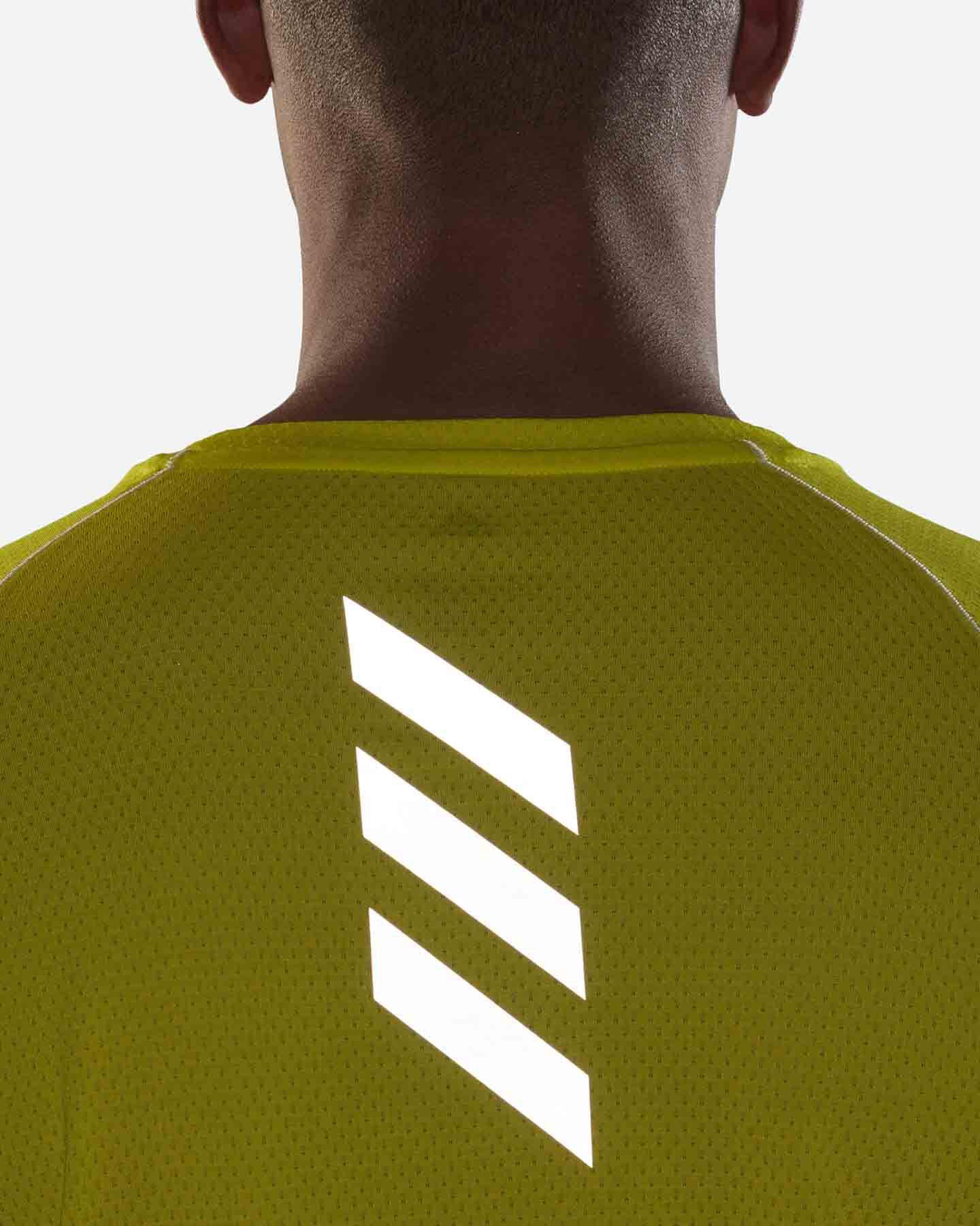 T-Shirt running ADIDAS RUNNER M S5273910 scatto 4